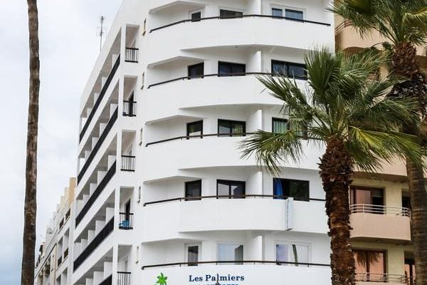 Les Palmiers hotel in Larnaca, Cyprus